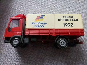 """IVECO Werbetruck """"Truck of the Year 1992"""" EuroCargo mit OVP der Firma Liebhaber"""