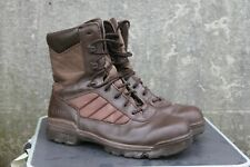 More details for genuine surplus british military boots bates leather fabric brown