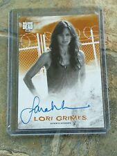 Topps Walking Dead Hunters & Hunted Sarah Wayne Callies/Lori Autograph Card #/99