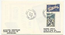 FRENCH ANTARCTIC TERRITORY Scott #35 & #26 on Cover 1971