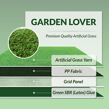 Affordable Artificial Grass Fake Lawn Astro Turf Spring Summer Garden Clearance