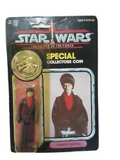 Stars Wars Vintage Potf Carded Imperial Dignitary With Coin Last 17 Rare.