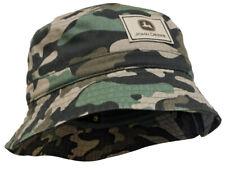 NEW John Deere Toddler Size Camo Bucket Hat Cap  LP72231