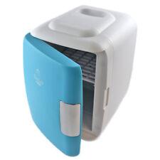 Portable Fridge Cooler Warmer System 4L 6Can Blue Electric 110V 12V Usb Power