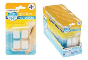 Masterplast Gel Toe Protectors Protects & Relieves Friction 4PK