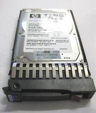 10x HP 500GB 7.2K RPM SAS Hard Drvie w/Tray MM0500FAMYT 507609-001 508009-001