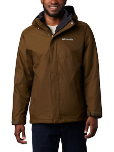 COLUMBIA® Men's Eagle Air 3-in-1 Interchange Jacket Sz LARGE Olive Grn NWT $220