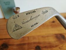 Antique Hickory MID IRON ** Gene Sarazen GS2 ** Burke golf club, MONEL METAL