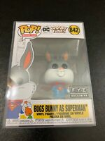 POP! ANIMATION DC LOONEY TUNES BUGS BUNNY AS SUPERMAN #842 FUNKO POP! WITH CASE!