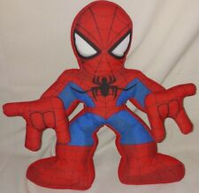 "Electronic Web Talking SPIDERMAN 11"" Plush Doll Playskool Heroes Marvel Toy"