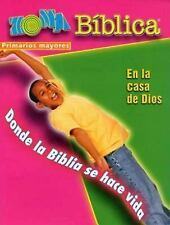 Zona Biblica En la Casa de Dios Older Elementary Leader's Guide: Bible Zone In G