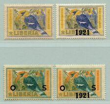 Liberia 1920 Nashornvogel Vögel Birds 201 220 D119 D133 Ungebraucht / 606