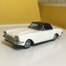 VINTAGE BANDAI TIN BATTERY OPERATED CHEVROLET CORVETTE  FULLY WORKING! SWEET!!