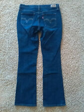 Levis 515 Boot Cut Jeans Size 8 M (Actual W30xL31) NICE!
