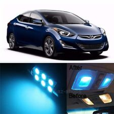 10pcs ICE Blue LED Light Interior Package Kit for Hyundai Elantra 2011-2017 KL
