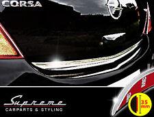OPEL CORSA D 5 PORTE CROMO Ornamentali Barra 3m barra posteriore larga 35mm protezione bordi