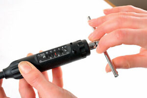 Compact Torque Driver Screwdriver Adjustable from 1 - 8Nm 1/4 Drive Hex - T Bar