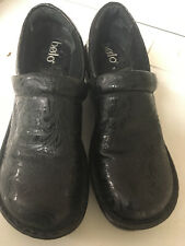 Born Bolo Andria sz 8.5M leather slip on casual clogs mules wedge shoes