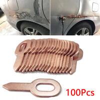 100pcs/Set 55.5mm Car Copper Washers Body Panel Pulling Tool Shape Repair Parts