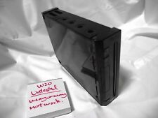 Free Shipping Untested Nintendo Wii Black Console Game System NTSC-J Japan W20