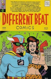 1994 Fantagraphics Different Beat Comics #1 First Printing Excellent Condition