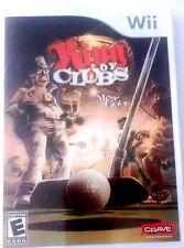 Wii, Mini Golf game, King of Clubs, 2008, Family Fun (Nentendo 2008)