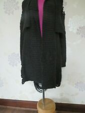 Stunning All Saints Dama Cardigan Black Size 6 (fits 6-10)  Excellent Condition