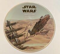 John Williams Star Wars signed album the force awakens picture disk rsd beckett