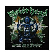 Motorhead Stone Deaf Forever Patch Cover Art Heavy Metal Woven Sew On Applique