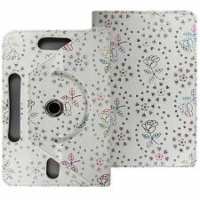 Universal 360 Leather Rotating Leather Flip Case Cover For Acer Alcatel Tablet