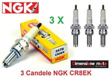 3478 - 3 Candele d'accens. NGK CR8EK per TRIUMPH Tiger 1050 dal 2011 >2014
