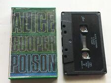 ALICE COOPER - POISON. Australian Cassette