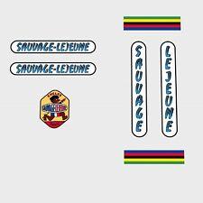 Sauvage-LEJEUNE Bicicletta Decalcomanie, trasferimenti, ADESIVI n.5