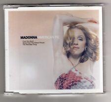 MADONNA Promo Cd Maxi  AMERICAN PIE  2 tracks 2000 / 18