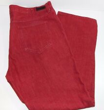 Ecko Unltd. Clothing Lansing Wash Straight Fit Jeans Size 42x30 Men Denim Red