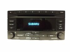 Subaru Forester OEM Sat Radio Stereo 6 Disc Changer MP3 WMA CD Player 86201SC640