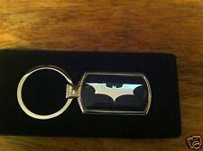 BATMAN METALLIC CHROME CHUNKY KEYRING, BATMAN KEY RING, BATMAN THE DARK KNIGHT