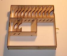 CUORE dell' inverno Game Box Portaoggetti LASER CUT 3mm Birch Ply-fai da te KIT INSERTO