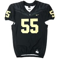 New Nike Men's L Purdue Boilermakers Vapor Pro Football Jersey #55 Black $120