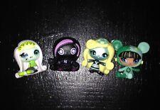Monster High Minis Doll: Lot of 4 Season 2 Cleo de Nile, Frankie Stein, Lagoona