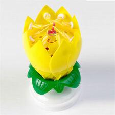 NEW The ORIGINAL Amazing Happy Birthday Candle - Yellow, FREE SHIPING