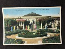 Vintage Real Photo Postcard #TP1420 Rose Walk: Winter Gardens: Weston Super Mare