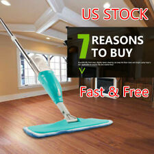 US Stock Magic Clean Spray Mop Floor Ceramic Automatic Home Tools + 2 Mop Pads