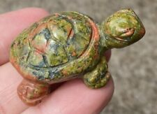 Unakite TURTLE Totem - Connect w/ Mother Earth - C3405