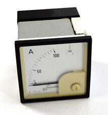 Schatte Amperemeter Analog Einbaumessgerät 0-200 A, 72x72mm