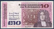 IRLANDE - 10 POUNDS Pick n° 72.b du 04-04-1986 en TTB   FEH 813032