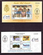SPAIN - SGMS3382 MNH 1996 ESPAMER - AVIATION & SPACE EXHIBITION