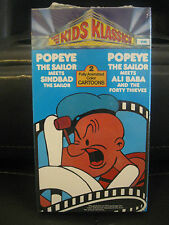 POPEYE THE SAILOR MEETS SINDBAD AND ALI BABA AND THE FORTY THIEVES, VHS TAPE
