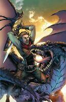 Dragonsblood Legend of Sigurd #1 CVR B Image Comic 1st Print 2019 NM unread