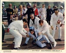 CALIFORNIA HOLIDAY SPINOUT ELVIS PRESLEY ORIGINAL LOBBY CARD RACING